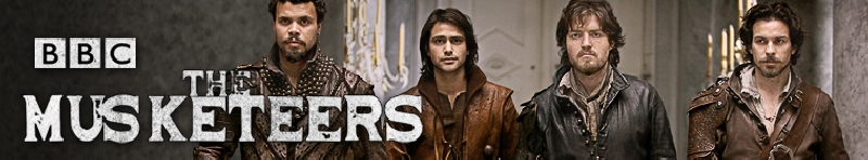 The Musketeers (source: TheTVDB.com)